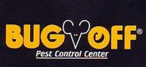 Bug Off Logo yellow and black